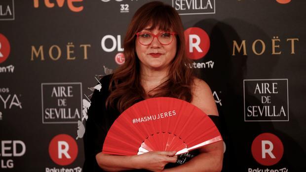 Isabel Coixet, en los Premios Goya 2018