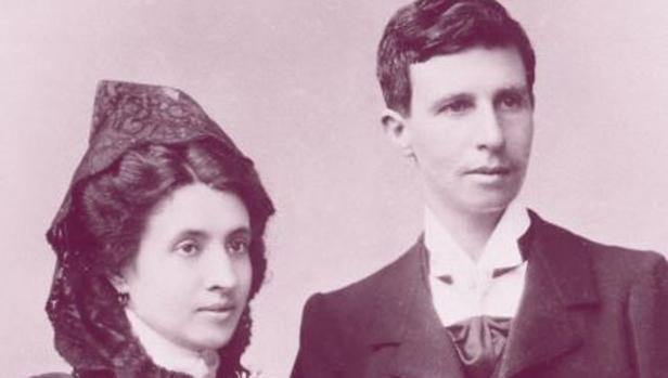 Elisa y Marcela en la portada del libro de Narciso de Gabriel sobre su historia