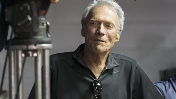 Clint Eastwood, en el rodaje de «15:17 Tren a París»