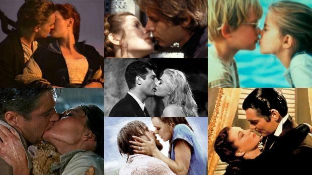 Besos de película para San Valentín