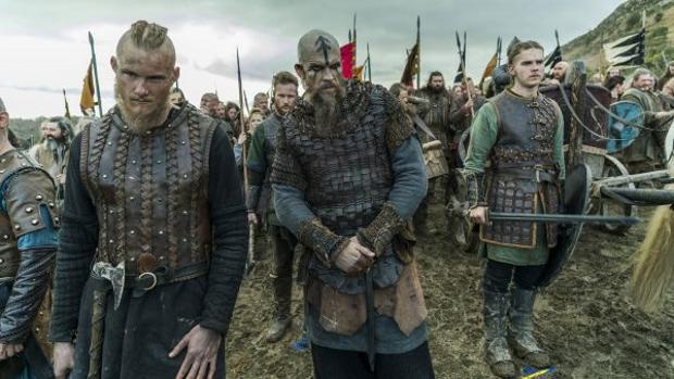 Escena de «Vikingos»