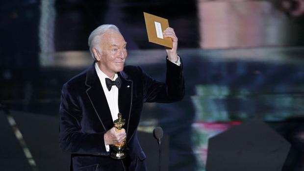Christopher Plummer con su Oscar