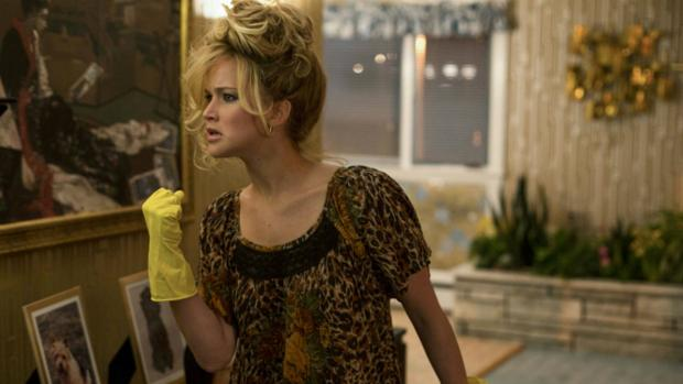 Jennifer Lawrence en «La gran estafa americana»