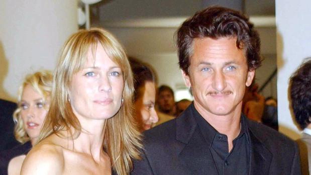 Sean Penn y Robin Wright, en una imagen de archivo