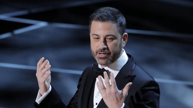 Jimmy Kimmel, presentador de la gala, que por primera vez bajó de 30 millones de espectadores