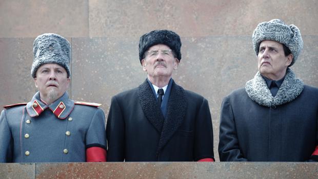 Una escena de esta juerga tragicómica sobre la muerte de Stalin