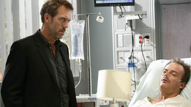 Hugh Laurie, el Doctor House, en un episodio de «House»