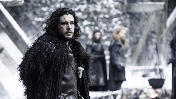 Jon Nieve, interpretado por Kit Harington, es uno de los protagonistas de «Juego de Tronos»