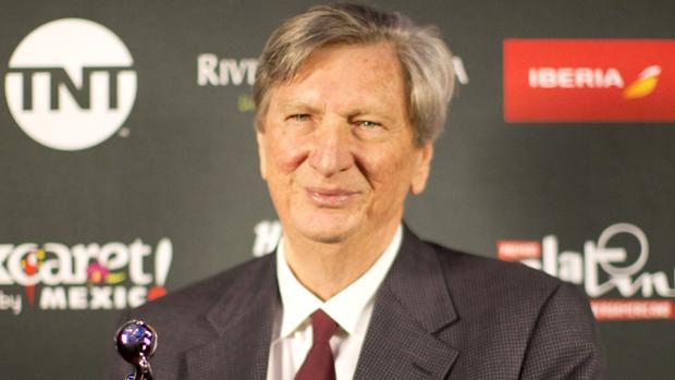 John Bailey, durante los Premios Platino