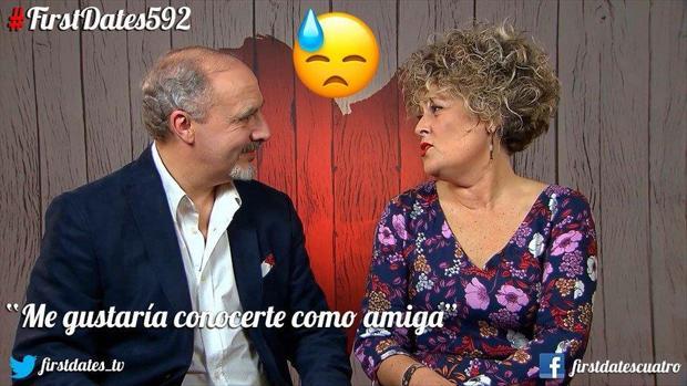 Juan Pedro y Blanca se marcharon de First Dates tan solteros como cuando habían llegado