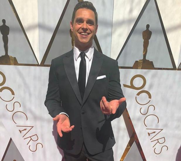 Karl Schmidt, durante la última gala de los Oscar