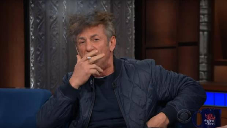 Sean Penn aparece drogado en una entrevista y se pone a fumar en el ...