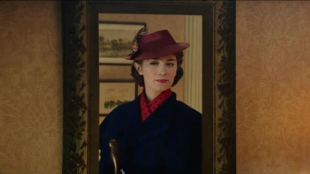 Emily Blunt en «El regreso de Mary Poppins», que llegará a los cines el 21 de diciembre