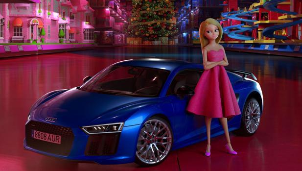 «La muñeca que eligió conducir»