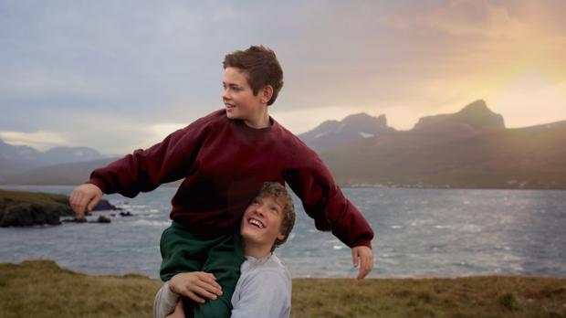Baldur Einarsson y Blær Hinriksson, amigos y residentes en Islandia