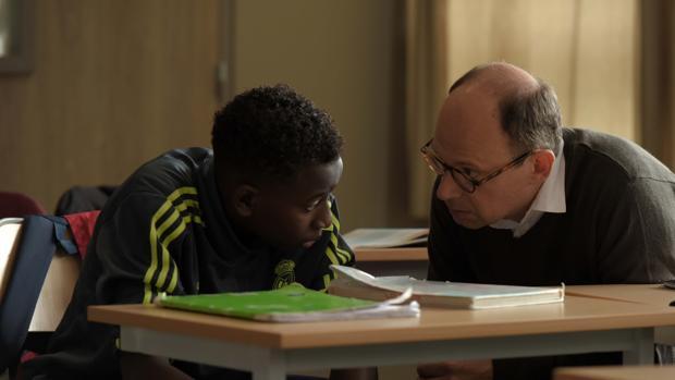 Denis Podalydès protagoniza junto a Abdoulaye Diallo «El buen maestro»