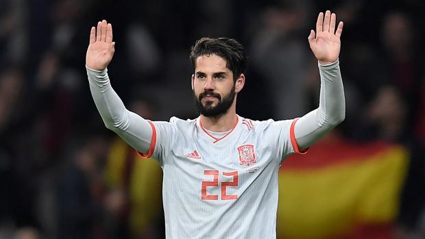 Isco, en un partido reciente con la selección española