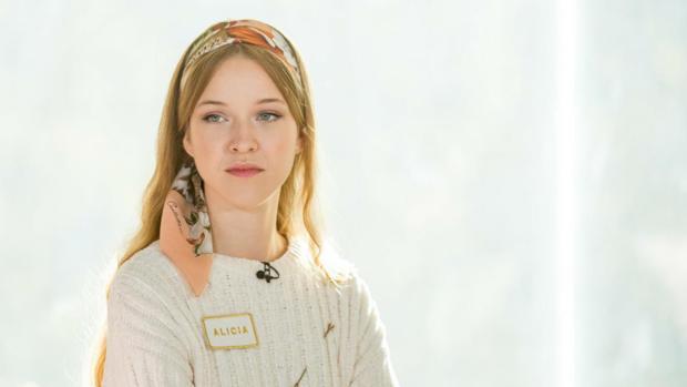 Alicia, la ganadora de Maestros de la Costura