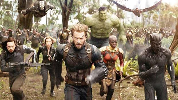 Imagen de «Los Vengadores: Infinity war»