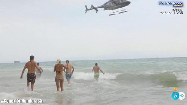 Los Supervivientes, evacuados
