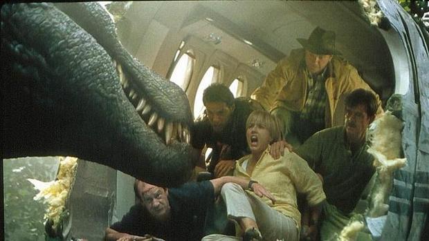 Escena mítica de «Parque Jurásico»