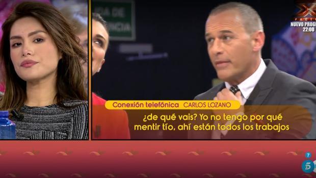 Carlos Lozano, molesto con «Sálvame»