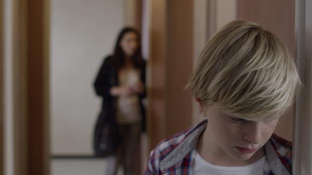 Escena del filme Custodia compartida