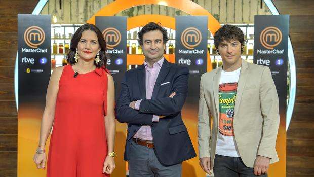 Samantha Vallejo-Nágera, Pepe Rodríguez y Jordi Cruz estrenan nueva temporada de «Masterchef»
