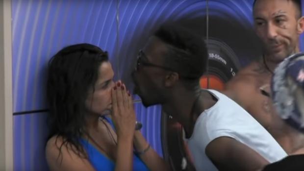 Aída Nízar, enfrentada con Baye Dame en «Gran Hermano Italia»