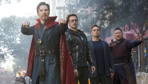 Escena de «Vengadores: Infinity War»