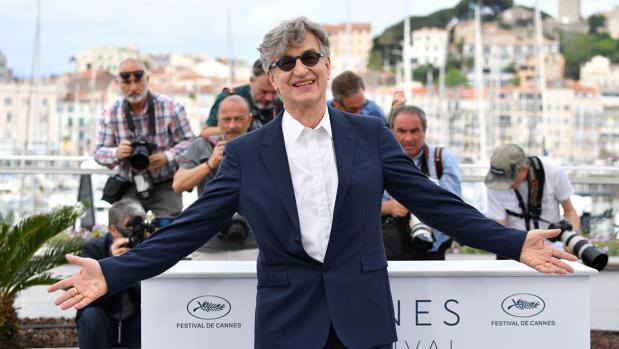 Wim Wenders, en el Festival de Cannes
