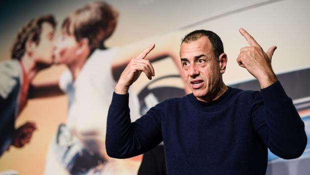 El director de cine italiano, Matteo Garrone, en la rueda de prensa para presentar la película «Dogman»
