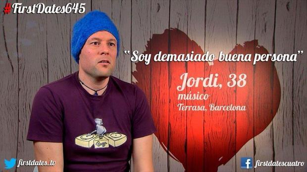 Jordi llegó muy ilusionado a First Dates pero no tuvo suerte con su pareja