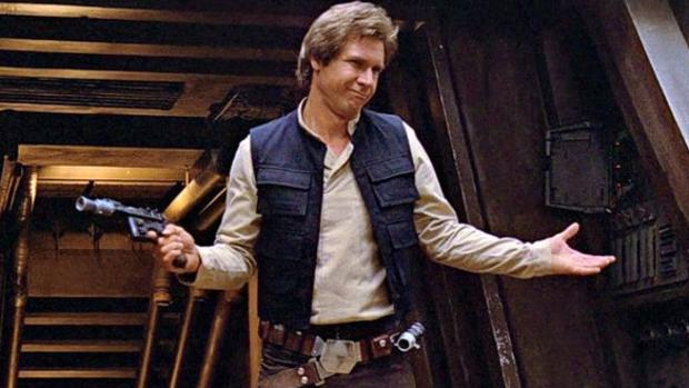 Harrison Ford interpretó a Han Solo en «Star Wars»