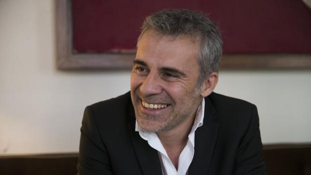 Domingo Corral, durante la entrevista