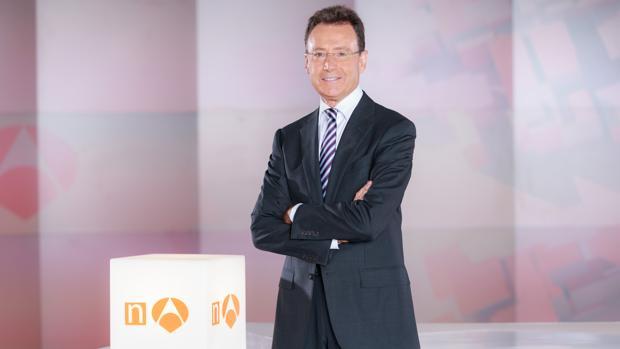 Matías Prats, presentador de Antena 3 Noticias durante los fines de semana