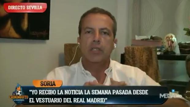 Cristóbal Soria, en «El chiringuito»