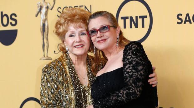 Carrie Fisher y su madre, Debbie Reynolds
