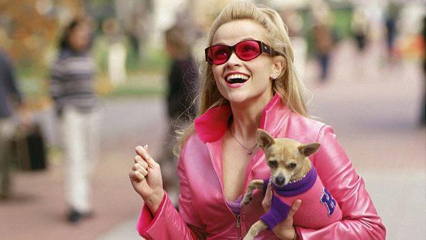 Reese Witherspoon, en «Una rubia muy legal»