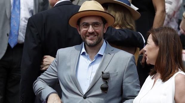 Màxim Huerta en el Roland Garros