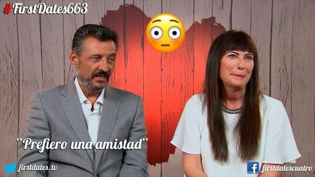 Antonio y Raquel tras su cita en First Dates