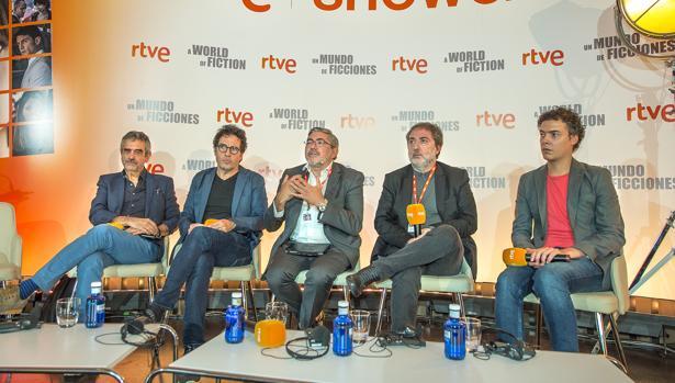 Joaquín Oristrell, Daniel Écija, Fernando López Puig, Javier Olivares, Josep Císter