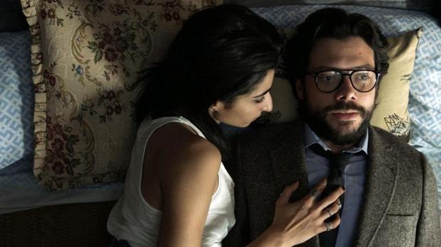 Álvaro Morte y Alba Flores, en «La casa de papel»