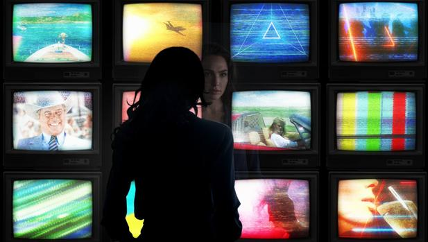 Gal Gadot en la imagen que ha subido a sus redes con el anuncio de Wonder Woman 2