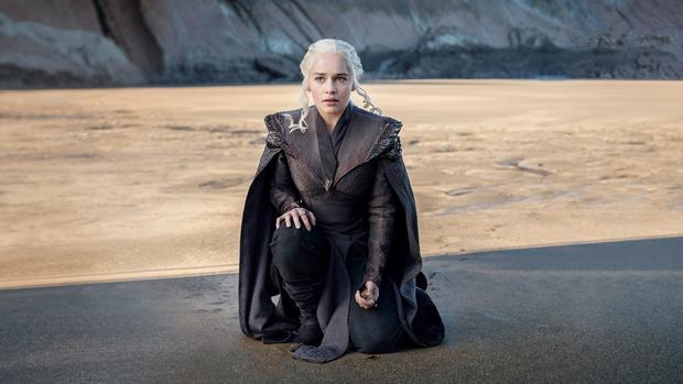 Emilia Clarke es Daenerys Targaryen en «Juego de tronos»