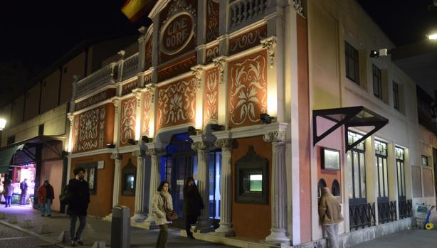 Exteriores del Cine Doré, una de las tres sedes que dependen de Filmoteca