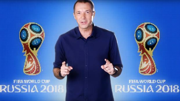Manu Carreño promociona el Mundial de Rusia
