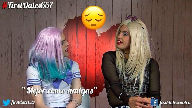 La pareja más liante de «First Dates»: Dos drag queens ponen patas arriba el restaurante