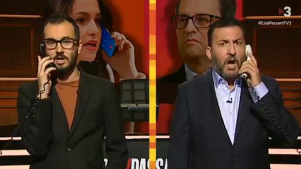 Resultado de imagen de TV3 se mofa de Inés Arrimadas: «Qué extraño que estés trabajando a estas horas siendo andaluza»