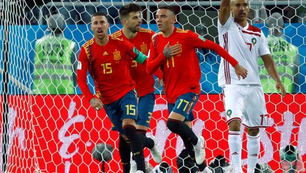 La selección española de fútbol selló ante Marruecos su pase a octavos de  final del Mundial de Rusia 2018. Con más sufrimiento del esperado y gracias  a la ... abe16657f83d7